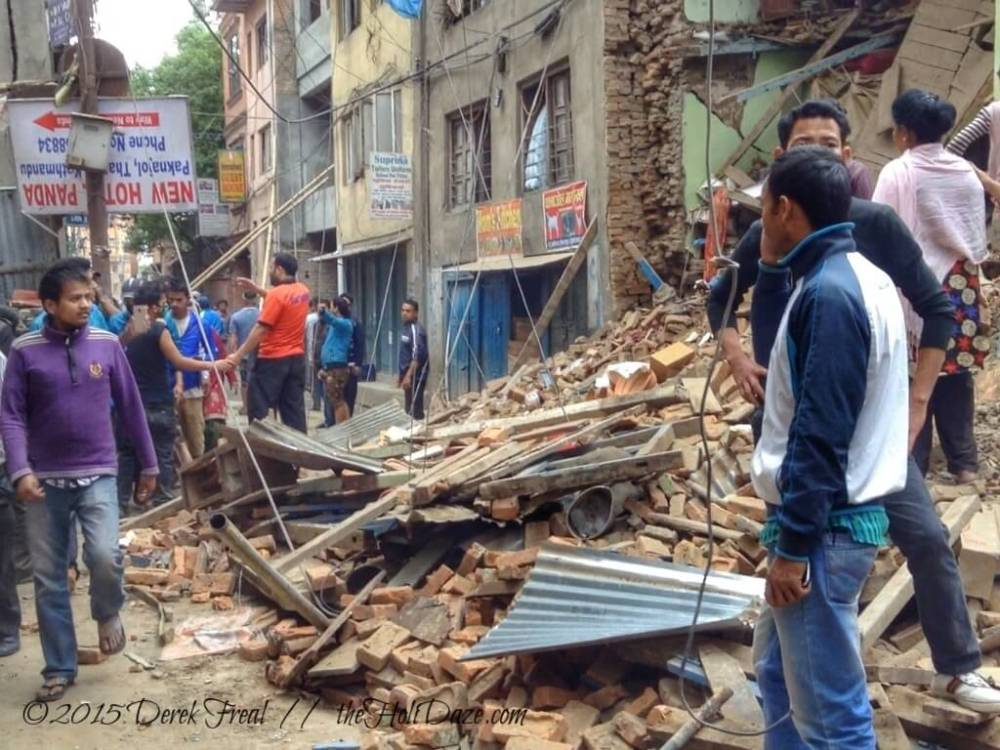 Kathmandu Photos Minutes And Days After The Nepal Earthquake