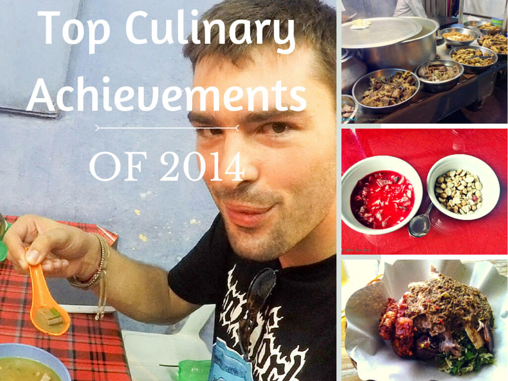 Derek Freal's top culinary achievements of 2014