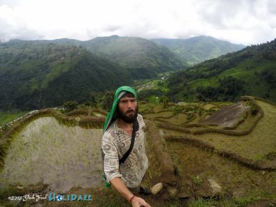 Derek Freal doing earthquake relief work in the mountains of Nepal
