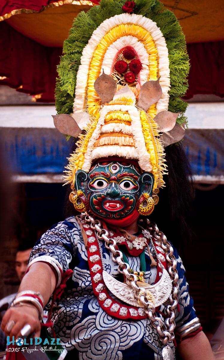 Lakhae dancer
