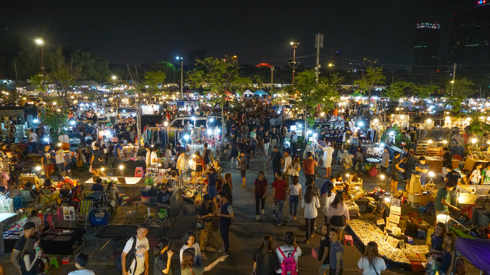 JJ Green night market in Bangkok is the coolest and quirkiest night market in all of Thailand