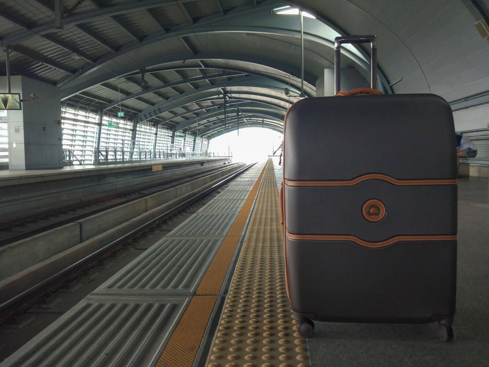 Delsey suitcase in Bangkok