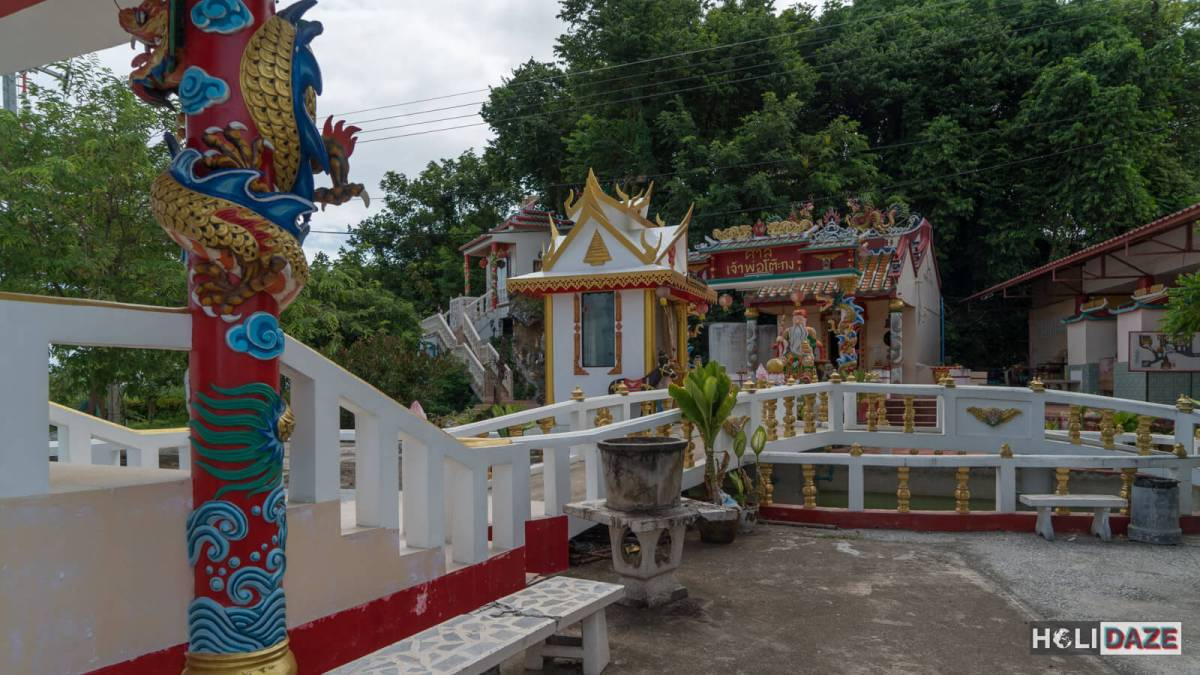 Chao Pho To Kong Shrine in Rayong, Thailand