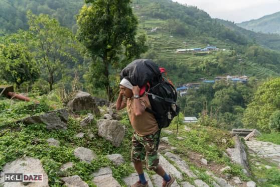 Sherpas to help us trek Annapurna Sanctuary in Nepal