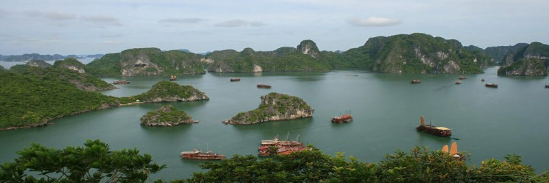 Halong Bay in north Vietnam
