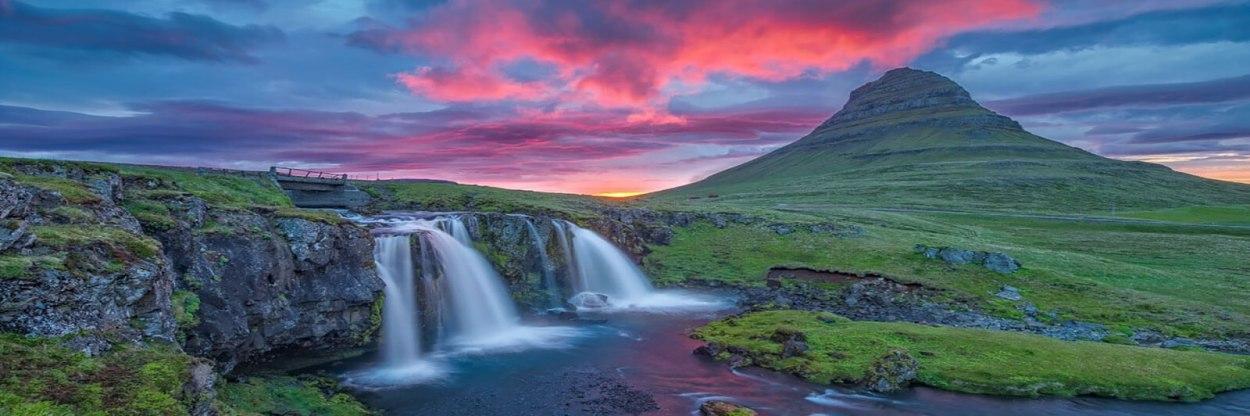 Iconic Iceland scenery