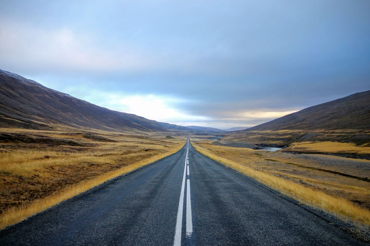 Road trip through the eastern region of Iceland
