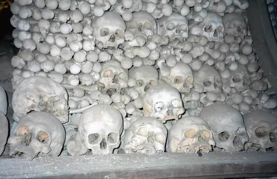 The Lovely Bones of Sedlec Ossuary in Kutna Hora