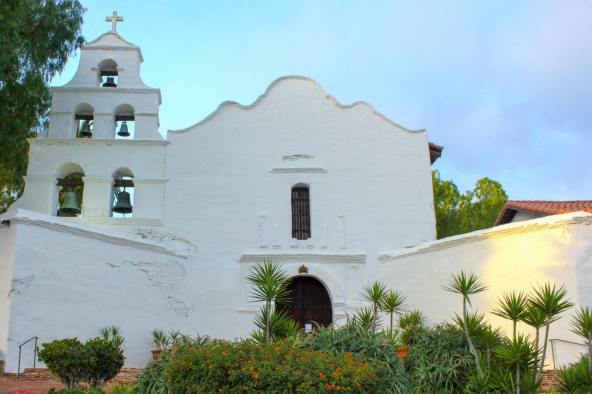Mission San Diego de Alcalá in California
