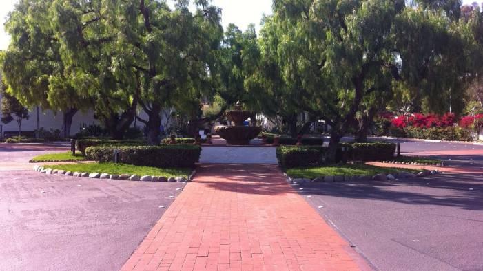 The fountain at Mission San Diego de Alcalá in California