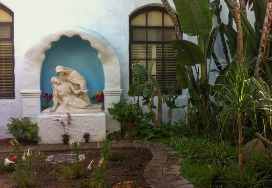Pieta at Mission San Diego de Alcalá in California