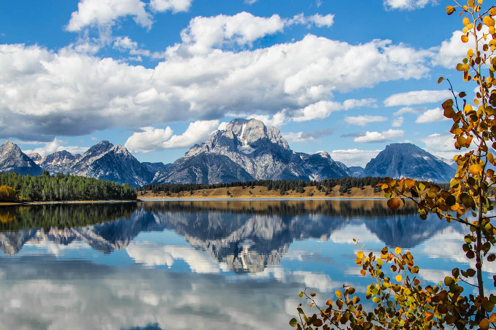 Breathtaking view of Jackson Hole, Wyoming
