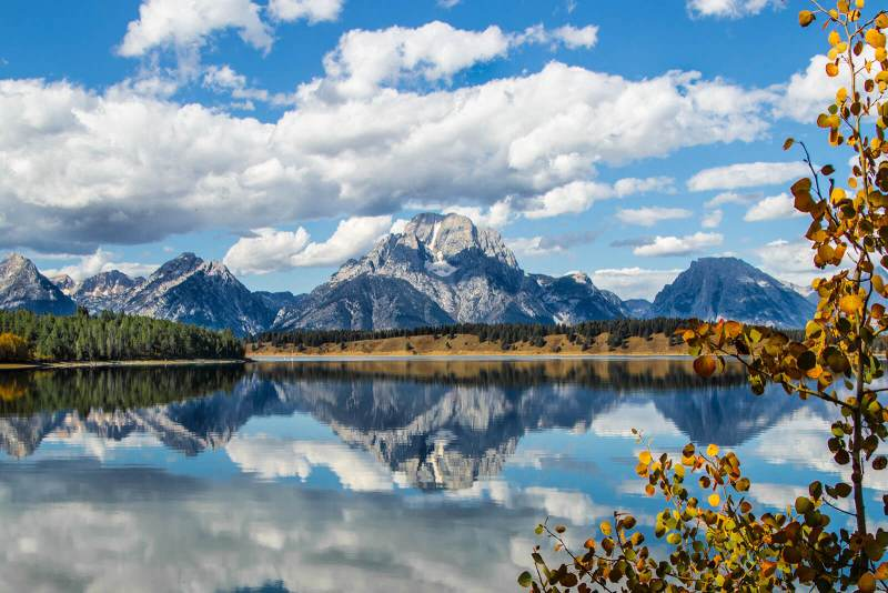 Breathtaking view of Jackson Hole, Wyoming