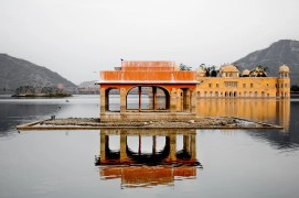 The Floating Palace of Jaipur, India