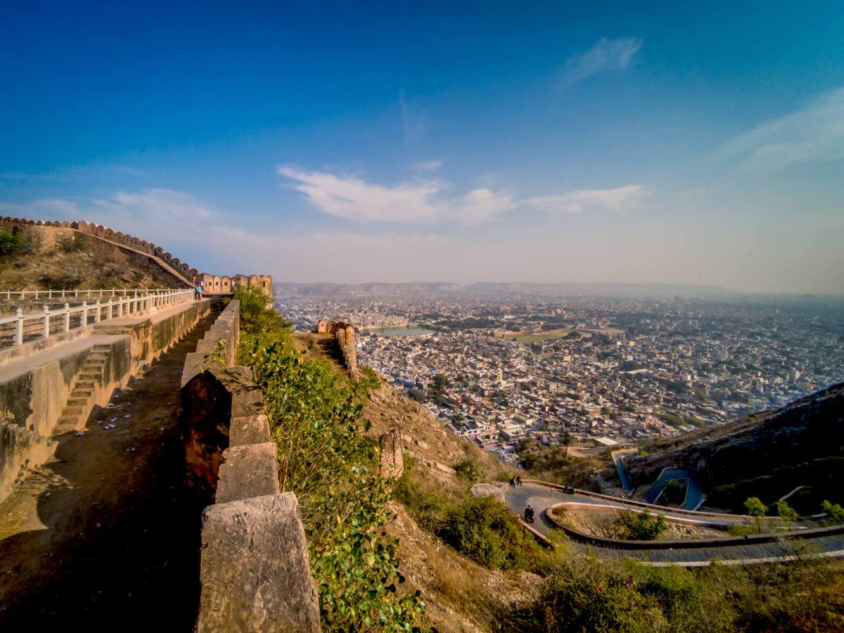 Nahargarh Fort in Jaipur, Rajasthan, India
