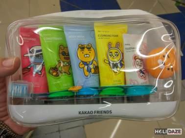 Korean Toiletry Kit