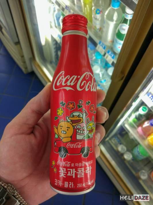 Cute Korean Coca-Cola bottle
