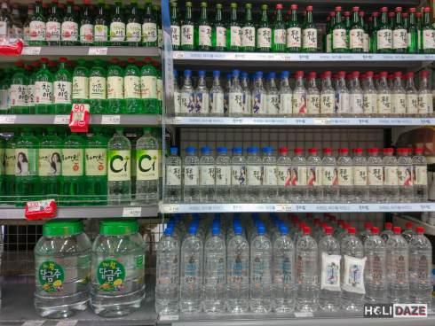 Soju Shopping in Korea
