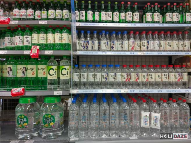 Soju Shopping in Korea
