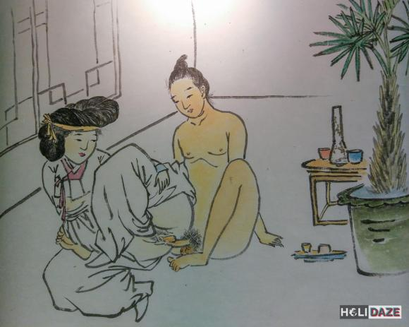 Chunwha Erotic Art at Love Castle Sex Museum in Gyeongju, South Korea