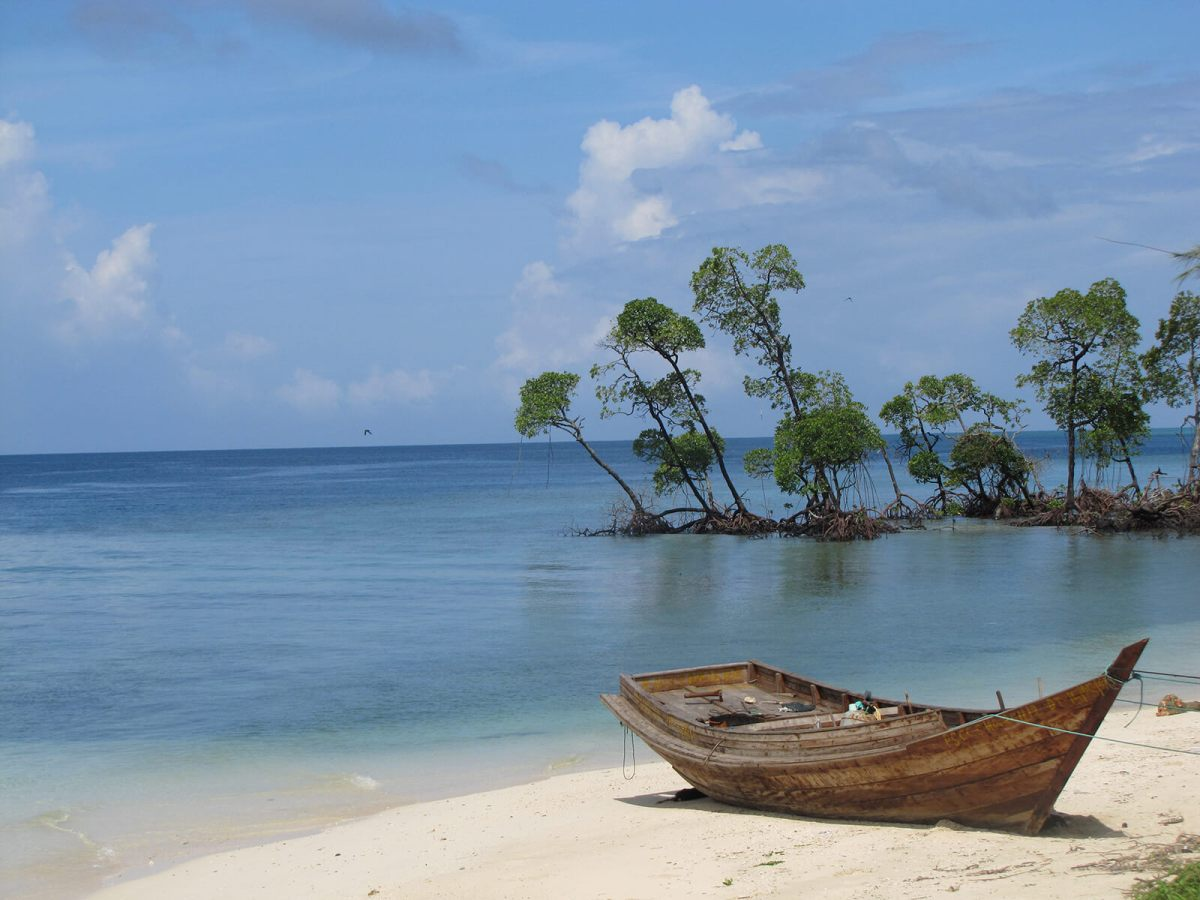 The Andaman Islands, a 300-island archipelago in the Bay of Bengal