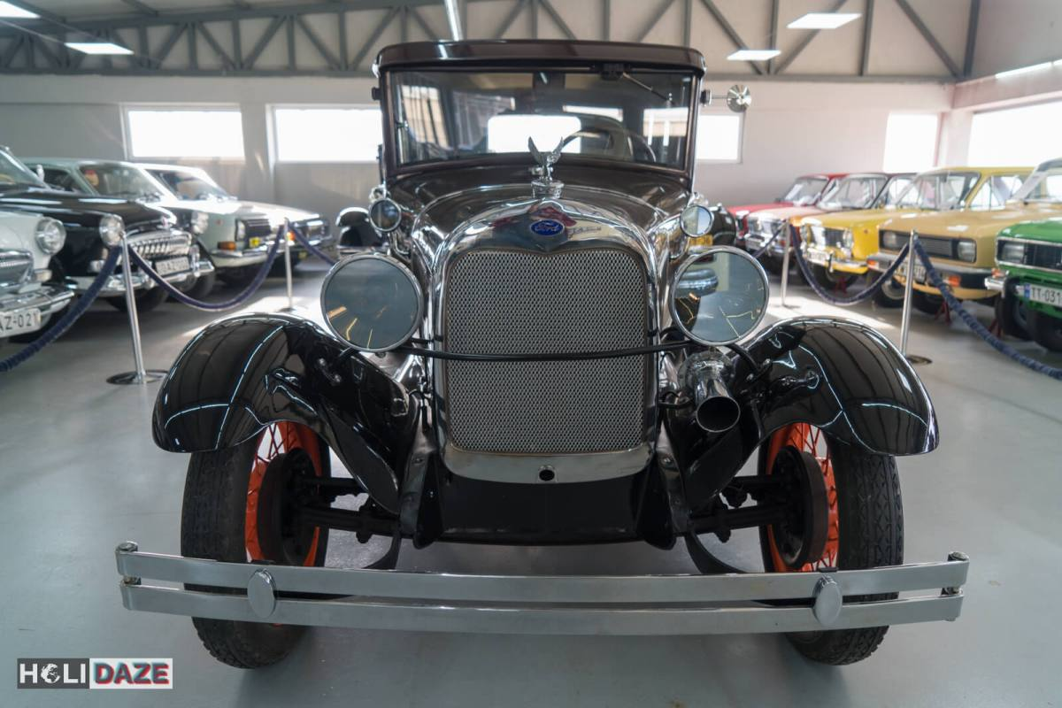 1930 Ford Model A at Tbilisi Auto Museum in Georgia