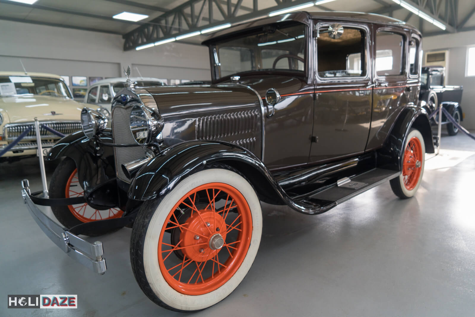 Side view of a 1930 Ford Model A