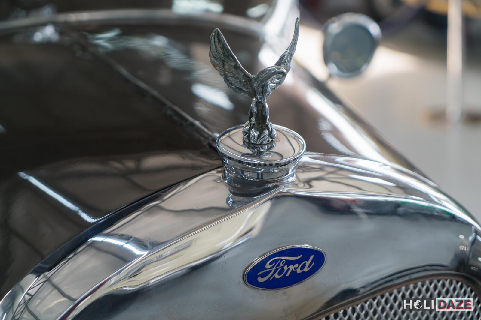1930 Ford Model A hood ornament