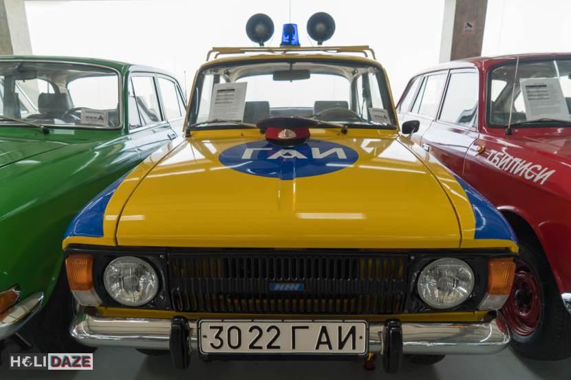 IZH Moskvich 412 at Tbilisi Auto Museum in Georgia