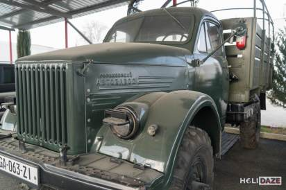 Largest Soviet Army truck in the 1950s and '60s