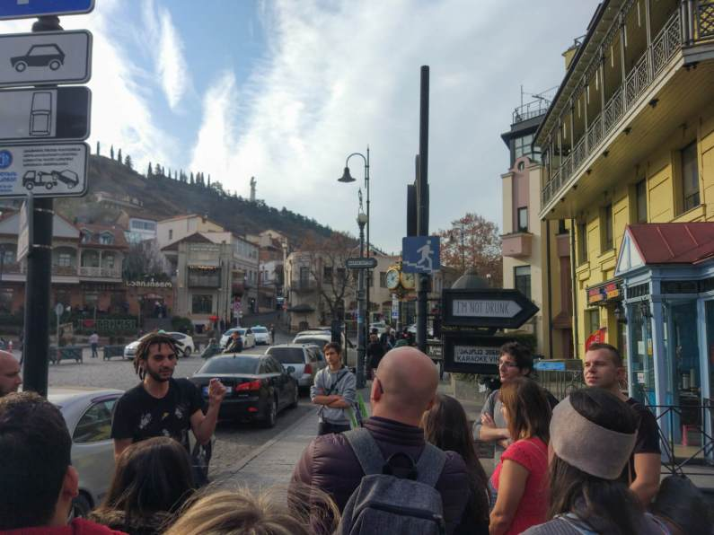 My amazing first impressions of Georgia were partially shaped by an amazing Tbilisi Old Town free walking tour
