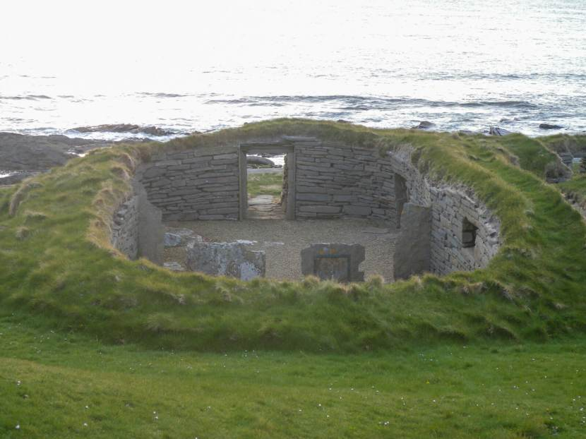 The Knap of Howar Neolithic farmstead is the oldest preserved house in northern Europe, dating from around 3500 BC.