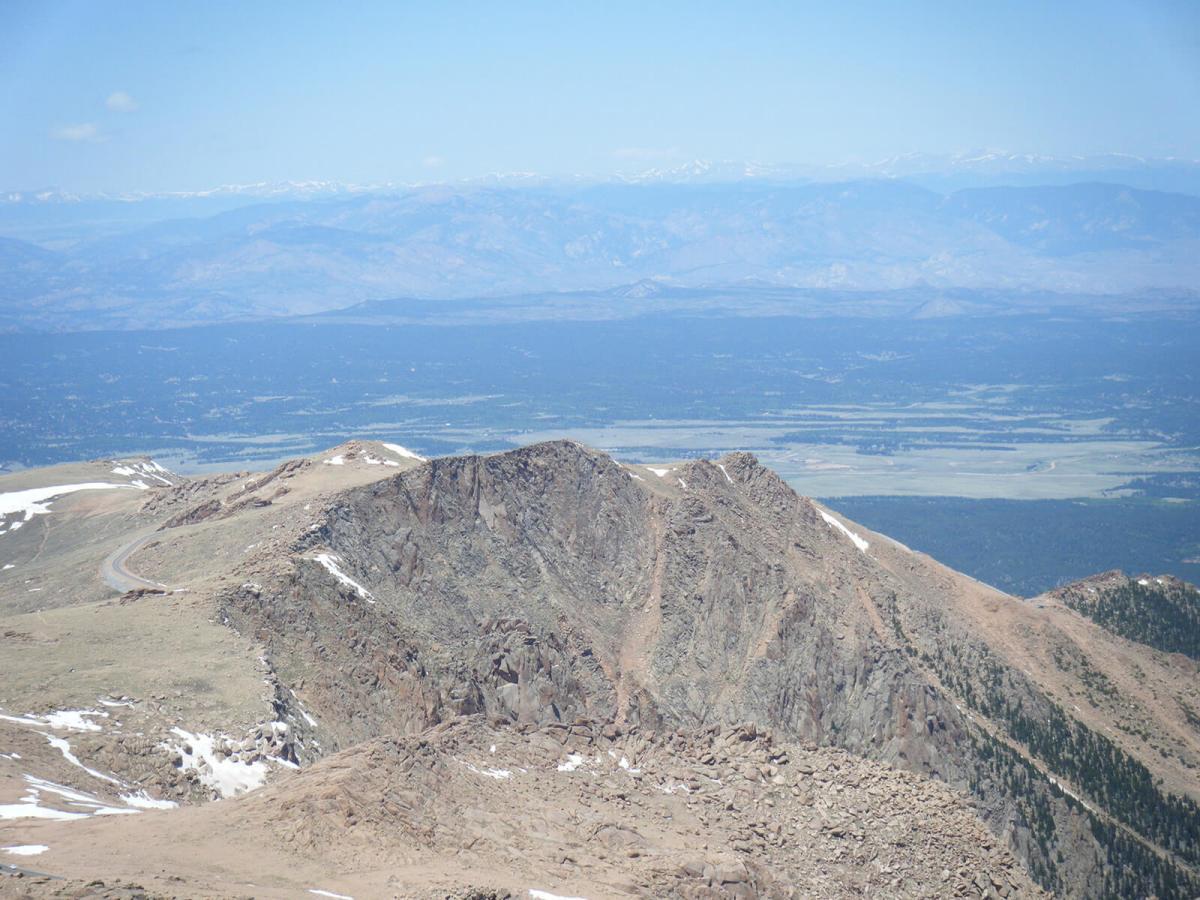 Pike's Peak in Manitou Springs, Colorado