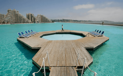The world's only pool within a pool