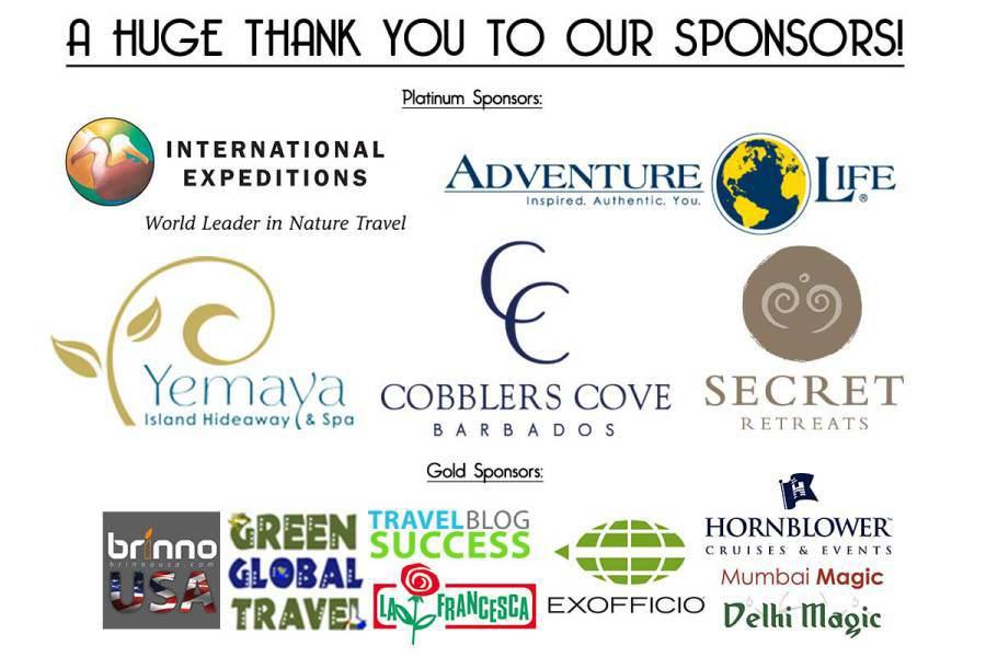 The amazing #JustOneRhino sponsors