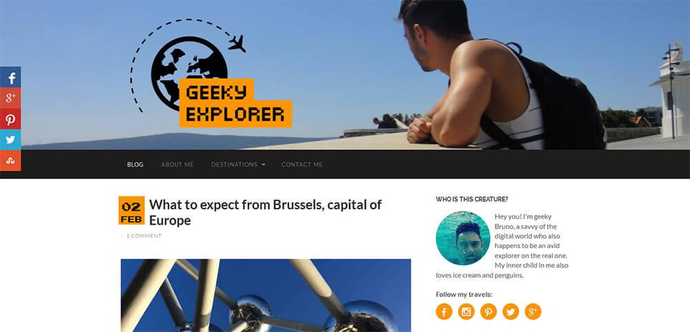 Best New Travel Blog 2015 - Geeky Explorer