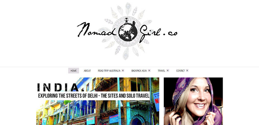 Best New Travel Blogs: Nomad Girl