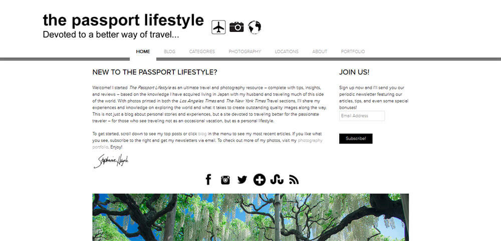 Best New Travel Blogs: The Passport Lifestyle