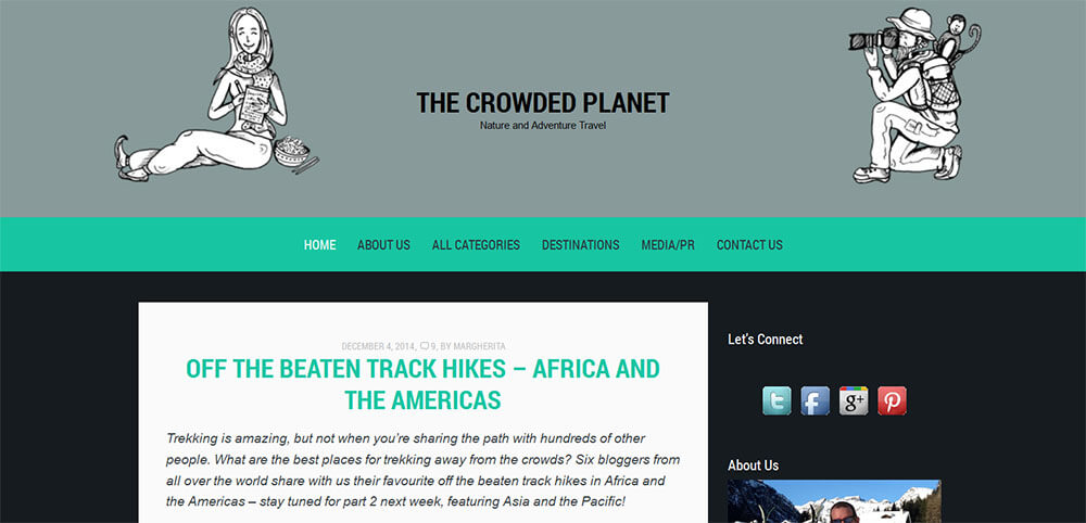 Best New Travel Blogs: The Crowded Planet