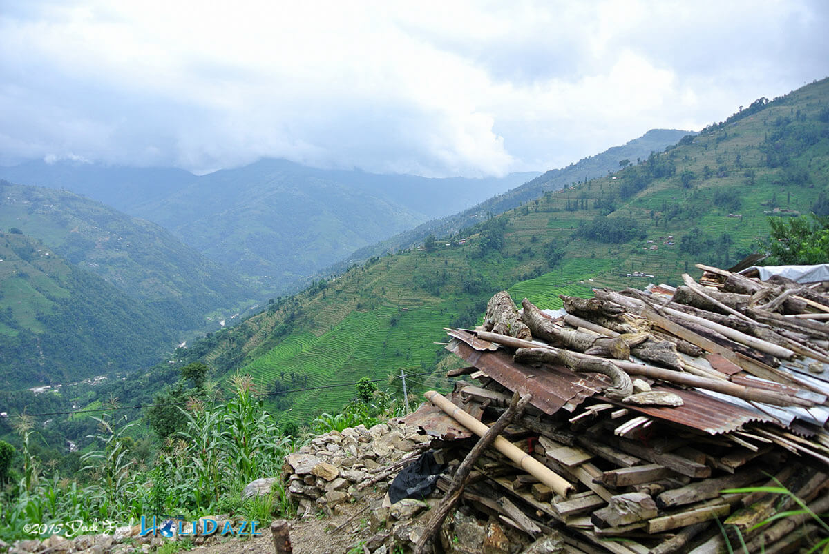 Nepal Now: Rubble still lines the mountaintops of Nepal, a grim reminder of the quake's ferocity