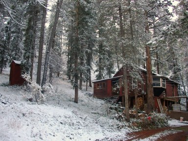 Our cabin in the woods October 1, 2013