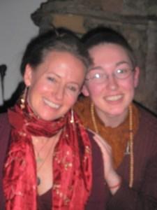 Aditi Devi Ma and Arwen Ek (formerly Ani Pema) 2010
