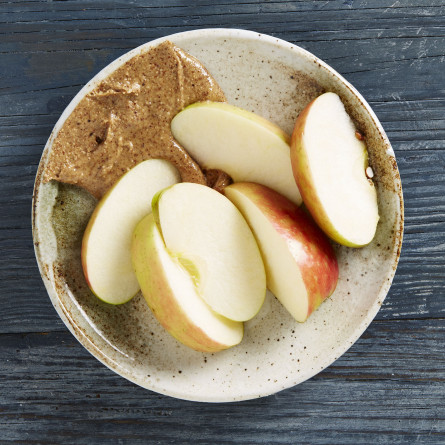 snack-apple-with-almond-butter-445x445