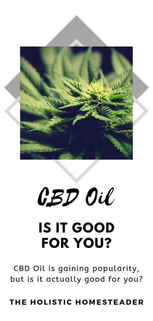 Is CBD oil good for you?