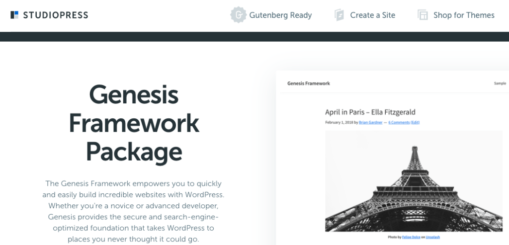 how to start a blog in 2019 with genesis framework