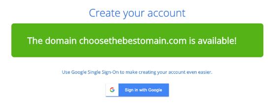 domain for blog