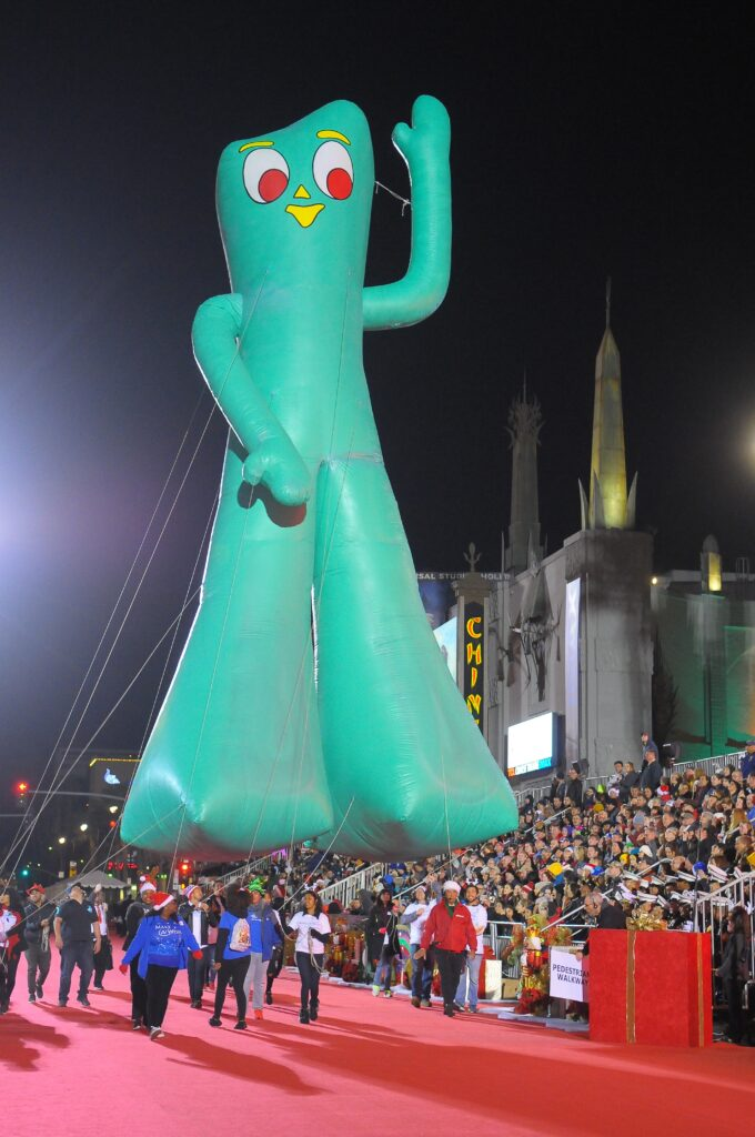Gumby The Hollywood Christmas Parade