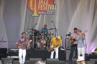 WBW Band performing