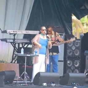 Patti Austin performing. ( Photo Credit : Sheryl Aronson)