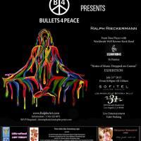 Former Bass Player of Scorpions Ralph Rieckermann's Exhibition Featured Designer Oksanna Romanov's Fashion Rock Hollywood